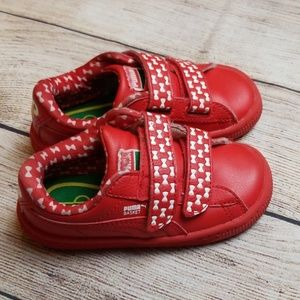 Red Sesame Street Elmo Puma Basket
